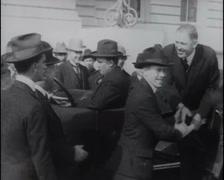 1917 - Mayor James San Francisco 02 - stock footage