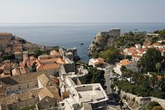 Stock Photo of dubrovnik, fort lawrence, unesco world heritage site, croatia