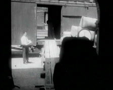 1924 - Cotton Mill 02 Stock Footage