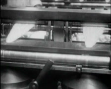 1924 - Cotton Mill03 Stock Footage