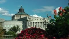 Library of Congress, Jefferson  Building, Washington Stock Footage