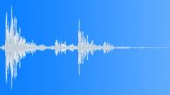 Big stone hit - large - sound effect