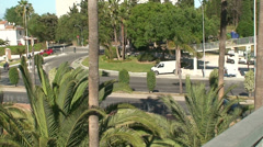 Street in Torremolinos (2) Stock Footage