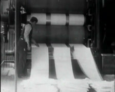 1924 - Cotton Mill 09 Stock Footage