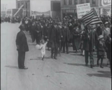 1934 - San Francisco Longshore Strike 02 Stock Footage