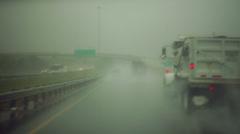 Colorado rain storm raining SEVERE RAINING Stock Footage