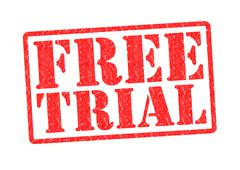 FREE TRIAL Stock Illustration