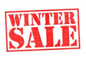 Stock Illustration of WINTER SALE