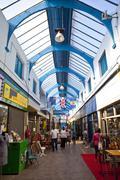 Brixton Village Arcade in London Stock Photos
