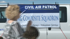 Civil Air Patrol Cadets Stock Footage
