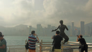 Stock Video Footage of Statue of Bruce Lee