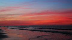 Colorful Coast Loop - stock footage