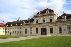the belvedere - stock photo
