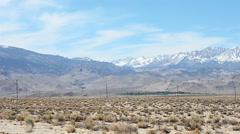 Sierra Nevada Mountains Stock Footage