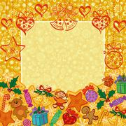Holiday Christmas background Piirros