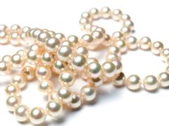 Stock Photo of pearly pearls