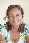 Germany, bavaria, munich, portrait of mature woman, smiling Stock Photos