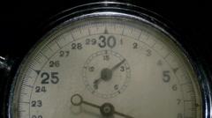 Stopwatch close Stock Footage