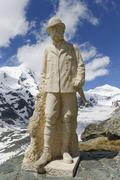 austria, carinthia, view of kaiser franz josef memorial - stock photo