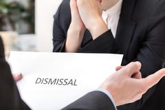 dismissal at work - stock photo