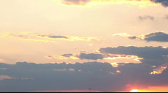 Sunset Stock Footage