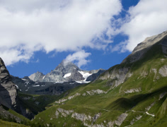 Grossglockner valley time lapse Stock Footage