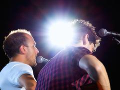 concert lights - stock photo