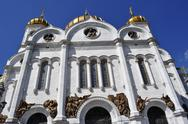 Stock Photo of temple of Christ the Savior
