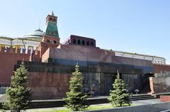 Lenin's mausoleum Stock Photos