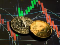 forex cents - stock photo