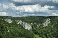 Stock Photo of germany, baden wuerttemberg, view of upper danube valley