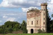 Stock Photo of old tower eastern europe serbia