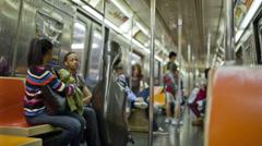 Subway Stock Footage