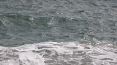 Blue Sea With Waves Stock Footage