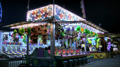 Carnival rising waters arcade game Stock Footage