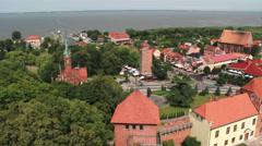 Frombork, Poland Stock Footage