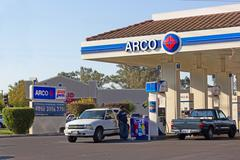 Sacramento, usa - september 13: arco pump station on september 13, 2013 in sa Stock Photos