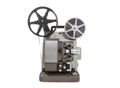 Old movie projector Stock Photos