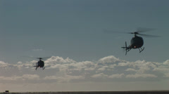 Military Helicopter Stock Footage