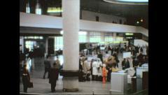 Leningrad 1974: Pulkovo airport Stock Footage