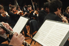 Symphony Orchestra Stock Footage