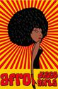 Stock Illustration of disco style afro girls vector art