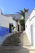 kasbah of oudayas - stock photo