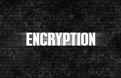 encryption - stock illustration