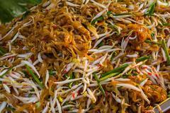 Stock Photo of favorite thai food pad thai.