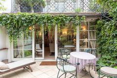 Stock Photo of vintage mansion - veranda
