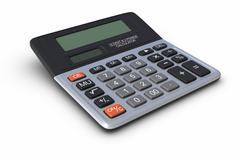 Calculator Stock Illustration