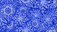 Stock Video Footage of snowflake as chrismas background.