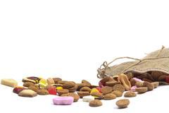 sweets for sinterklaas - stock photo