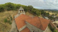 Romanic Church Stock Footage